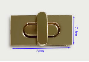 Metal Turn Lock of Handbag Accessories pictures & photos