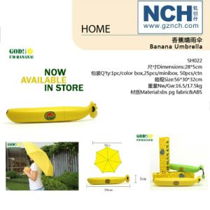 Novelty Promotion Umbrella/Advertising Gift Banana Umbrella