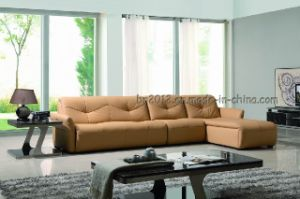 Living Room Genuine Leather Sofa (SBL-618) pictures & photos