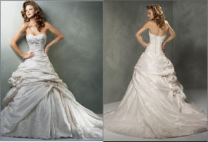 Popular Designer Wedding Dress (Z-046)