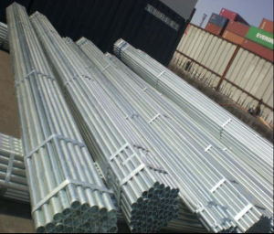 Q235 1inch 1.5inch 2inch Galvanized Steel Round Tube/Steel Pipe pictures & photos