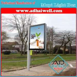 Street Aluminum Profile Scroller Light Box pictures & photos