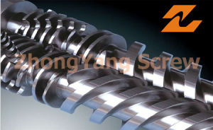 Bimetallic Extruder Twin Conical Screw and Barrel pictures & photos