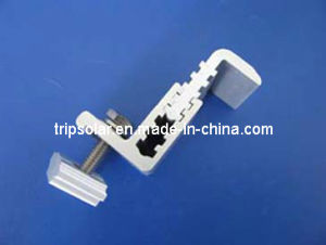 Adjustable Al6005-T5 End Clamp for Roof Mounting System
