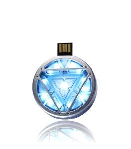 Si-Fi Design Simple Round USB Flash Memory Stick Pendrive