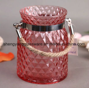 Good Quality Glass Craft Candle Holders for Christmas Festival pictures & photos