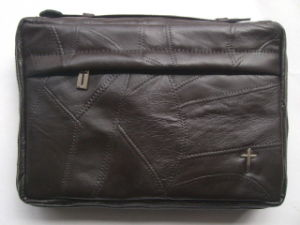 Patchwork Lambskin Leather Bible Cover Bag (DS130313)
