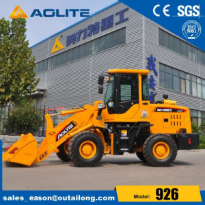 1.2t Log Mini Wheel Loader for Sales pictures & photos