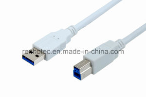 High Speed USB 3.0 Cable Am to Bm pictures & photos