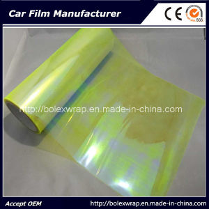 Chameleon Yellow Car Light Vinyl Sticker Chameleon Car Headlight Tint Vinyl Film pictures & photos
