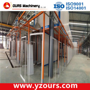 Complete Automatic Steel Powder Coating Line pictures & photos