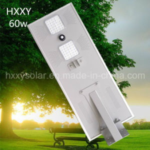 ISO9001 Solar Light 60W All in One Integrated LED Solar Street Light pictures & photos