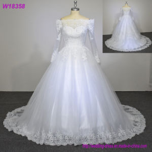 Hot Sale 2017 New Ball Gown Wedding Dresses W18358 pictures & photos