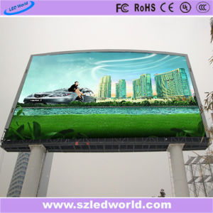 7500CD/M2 Brightness P10 Outdoor Full Color LED Display Screen Panel Board Factory Advertising pictures & photos