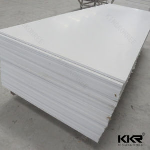 12mm Pure White Corian Acrylic Solid Surface 0706 pictures & photos