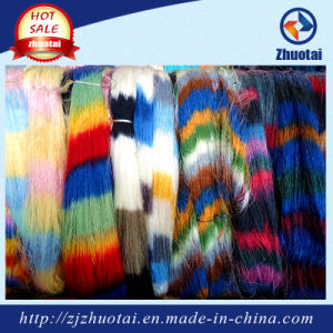 China Fancy Polyester Space Dyed Yarn for Fashion Clothes Seamless pictures & photos