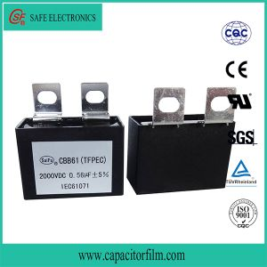 Cbb61 AC Motor Start Metallized Polypropylene Film Capacitor for Fan pictures & photos