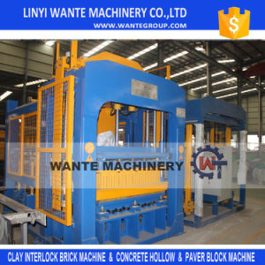 Qt10-15 Fully Automatic Curbstone Hollow Color Brick Making Machine pictures & photos