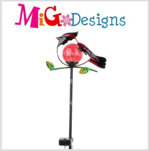 The Red Hummingbird Glass Lamp Solar Garden Stakes pictures & photos