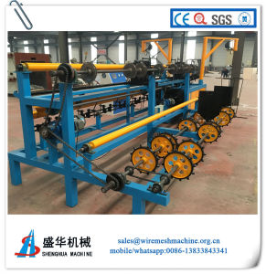 Full Automatic Chain Link Fence Machine (wire diameter: 1.0-4.0mm) pictures & photos