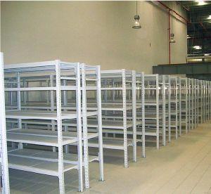Medium Duty Warehouse Storage Metal Shelf Rack Manufacturer pictures & photos