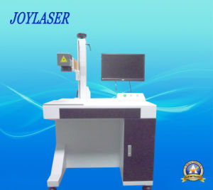 Optical Metal Fiber Laser Marking Machine with Ce pictures & photos