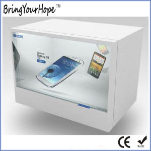 19 Inch Wide Screen Trasparent LCD Showcase (XH-DPF-190B) pictures & photos