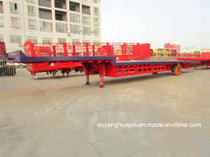 16 Meters Light Flatbed Semi Trailer pictures & photos