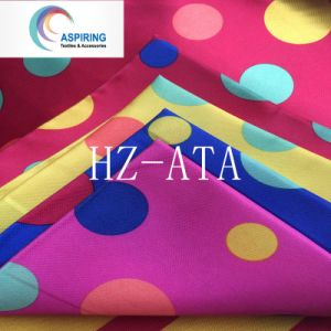 Polyester Satin Fabric for Dress Lining and Decoration pictures & photos