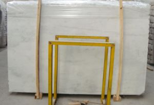 China Statuary White/Oriental White/Eastern White Marble Slabs/Tiles pictures & photos