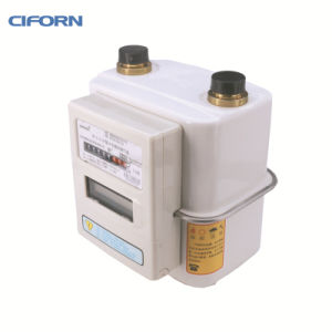 G2.5 Steel Case IC Card Diaphragm Gas Meter pictures & photos