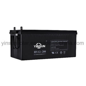 12V 200ah Solar Battery for Solar Power System pictures & photos