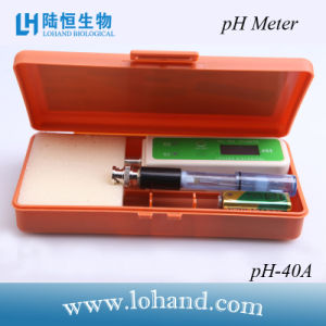 High Accuracy Pocket Size pH Tester/Meter From China (pH-40A) pictures & photos