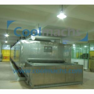 Seafood Food Quick Freeze Tunnel IQF Quick Freezing Equipment pictures & photos