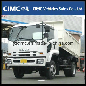 Isuzu 10wheeler 350HP Dump Truck Euro4 for Philippines pictures & photos