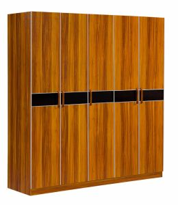 5 Doors Wardrobe Solid Wood Bedroom Wardrobe pictures & photos
