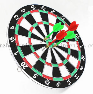 OEM Double Wall Wooden Toy Dart Accessories Dartboard Set pictures & photos