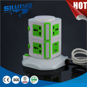 8 Way Multi Extension Socket with USB with Handle pictures & photos