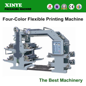 Four Color Printing Machine Set, 4 Flexo Printing Machine pictures & photos