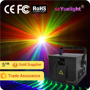 Guangzhou Popular 2W Full Color Animation Laser Projector pictures & photos