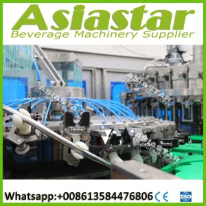 Automatic Glass Bottles Carbonated Drinks Washing Filling Capping Machine pictures & photos