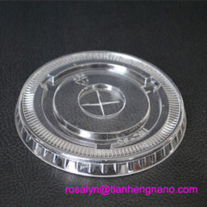 Transparent Vacuum Formed Rigid HIPS Film for Cup, Cup Lid, Caps pictures & photos