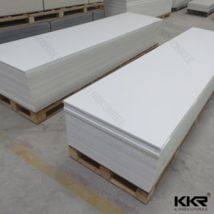 LG Staron Pure White Solid Surface, Solid Surface Slabs pictures & photos