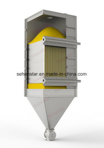 Battery Powder Special Plate Heat Exchanger Fluid Bed Dryer Granulator pictures & photos