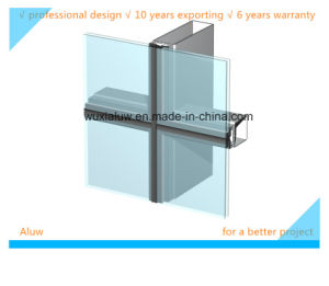 Glass Curtain Wall (invisible curtain wall) pictures & photos