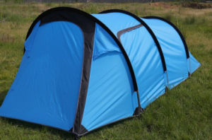 Family Tent with Tunnel for 3-4 Person pictures & photos