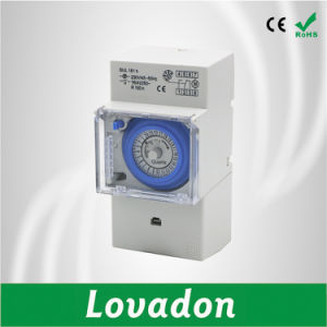 Sul181h Without Battery 24 Hour / Timer Circuit Breaker Mechanical / Electronic Mechanical Programming Timer Switch pictures & photos