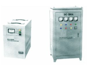 SVC Three Phases Automatic Voltage Stabilizer pictures & photos