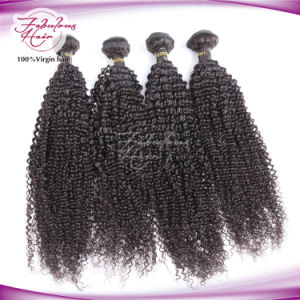 Unprocessed Human Hair Extension Kinky Curly Wholesale Virgin Peruvian Hair pictures & photos