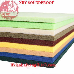 Sound System 3D Polyester Fiber Acoustics Panel Decoration Panel Board Sheet pictures & photos